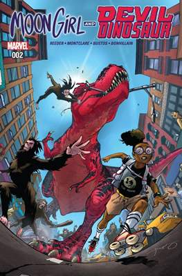 Moon Girl and Devil Dinosaur (Comic-book) #2