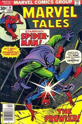 Marvel Tales (Comic Book) #74