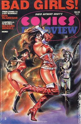 Comics Interview Super Special Bad Girls / X-Files #1