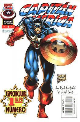 Héroes Reborn: Capitán América (1997-1998) (Grapa 24 pp) #1