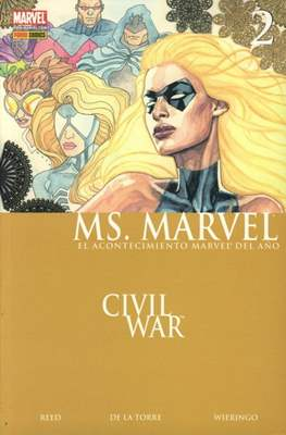 Ms. Marvel (2007-2009) (Rústica 144 pp) #2