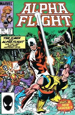 Alpha Flight Vol. 1 (1983-1994) (Comic Book) #17