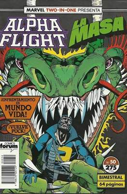 Alpha Flight Vol. 1 / Marvel Two-in-one: Alpha Flight & La Masa Vol.1 (1985-1992) (Grapa 32-64 pp) #50
