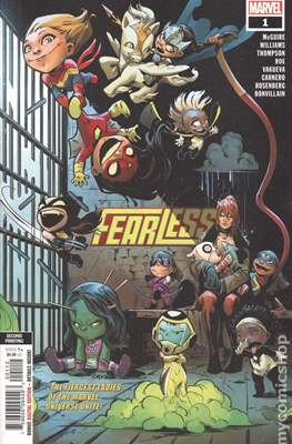 Fearless (2019- Variant Cover) #1.2