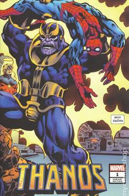 Thanos (2019 Variant Cover) (Comic Book) #1.4