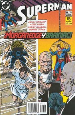 Superman: El Hombre de Acero / Superman Vol. 2 (Grapa 36 pp) #76