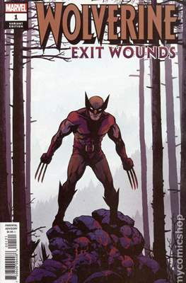 Wolverine: Exit Wounds (Variant Cover) (Comic Book) #1.2