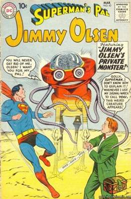 Superman's Pal, Jimmy Olsen / The Superman Family (Comic Book) #43