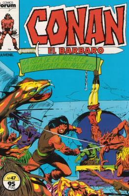 Conan el Bárbaro (1983-1994) (Grapa. 19x27. 36/32/24 páginas. Color.) #47