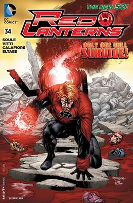 Red Lanterns (2011 - 2015) New 52 #34