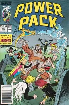 Power Pack (1984-1991; 2017) (Grapa) #40