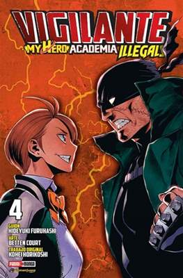 Vigilante: My Hero Academia Illegals #4