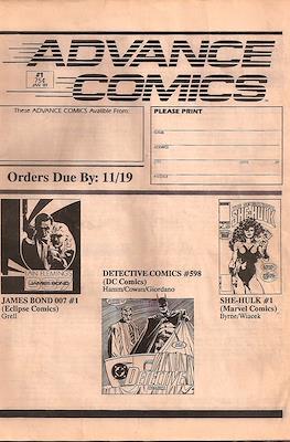 Advance Comics #1