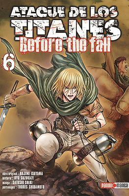 Ataque de los Titanes: Before the Fall (Rústica) #6