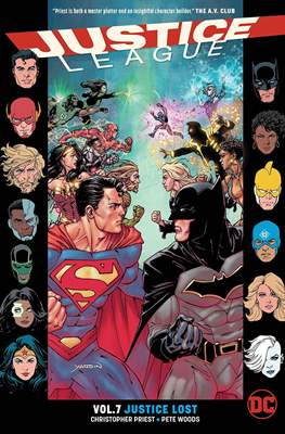 Justice League (2016-...) (Trade Paperback) #7