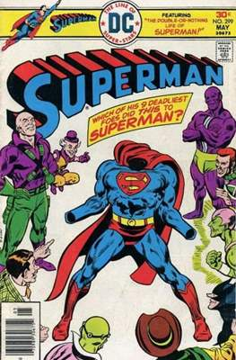 Superman Vol. 1 / Adventures of Superman Vol. 1 (1939-2011) (Comic Book) #299
