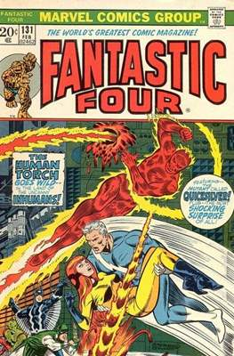 Fantastic Four Vol. 1 (1961-1996) (saddle-stitched) #131