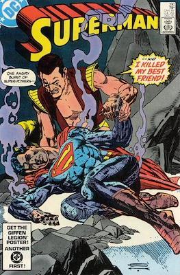 Superman Vol. 1 / Adventures of Superman Vol. 1 (1939-2011) (Comic Book) #390
