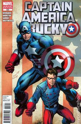 Captain America Vol. 5 (2005-2011 Variant Cover) (Comic Book) #620
