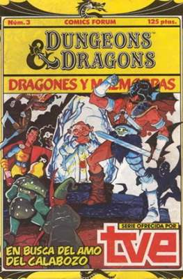 Dungeons and dragons. Dragones y mazmorras #3
