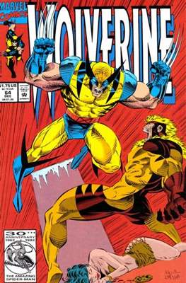 Wolverine (1988-2003) (Saddle-stitched) #64