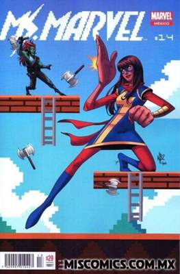 Ms. Marvel (2016-2017) (Grapa) #14