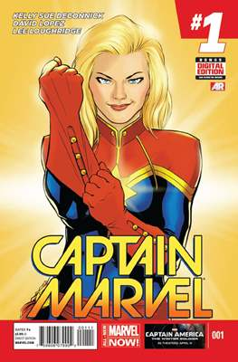 Captain Marvel Vol. 8 (Comic-Book) #1