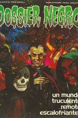 Dossier Negro (Rústica y grapa [1968 - 1988]) #170
