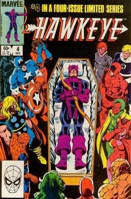 Hawkeye (Vol. 1 1983) (comic-book) #4