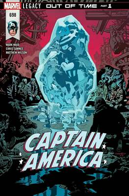 Captain America Vol. 8 (2017-2018) (Comic Book) #698