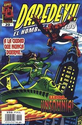 Daredevil Vol. 3 (1996-1998) (Grapa 24 pp) #20