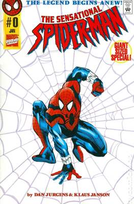 The Sensational Spider-Man (1996-1998 Variant Cover) (Comic Book) #0.1