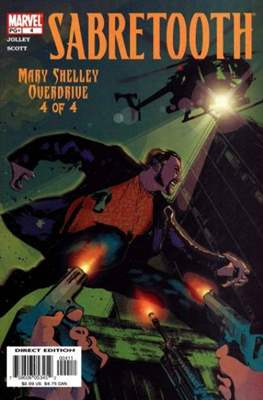Sabretooth: Mary Shelley Overdrive (Comic Book) #4