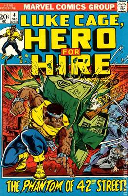 Hero for Hire / Power Man Vol 1 / Power Man and Iron Fist Vol 1 #4