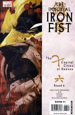 The Immortal Iron Fist (2007-2009) (Comic Book) #13