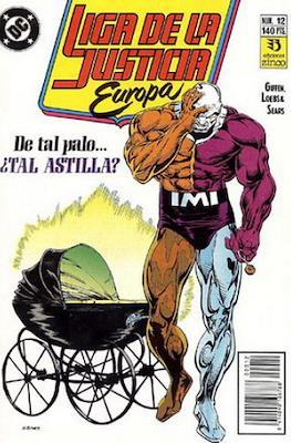 Liga de la Justicia Europa (1989-1992) (Grapa) #12