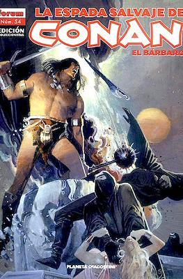 La Espada Salvaje de Conan el Bárbaro. Edición coleccionistas (Rústica. 64 páginas. B/N. (2005-2008).) #54