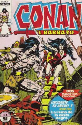 Conan el Bárbaro (1983-1994) (Grapa. 19x27. 36/32/24 páginas. Color.) #4