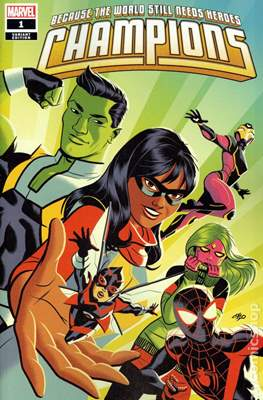 Champions Vol. 3 (2019- Variant Cover)