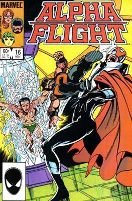 Alpha Flight Vol. 1 (1983-1994) (Comic Book) #16