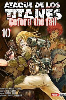 Ataque de los Titanes: Before the Fall #10