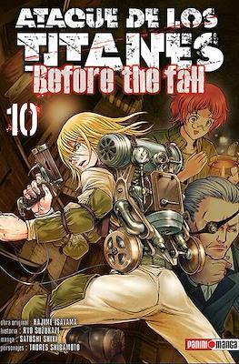 Ataque de los Titanes: Before the Fall (Rústica) #10