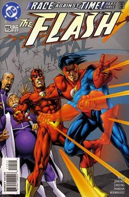 The Flash Vol. 2 (1987-2006) (Comic Book) #115