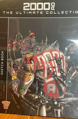 2000 AD The Ultimate Collection Sketch Book