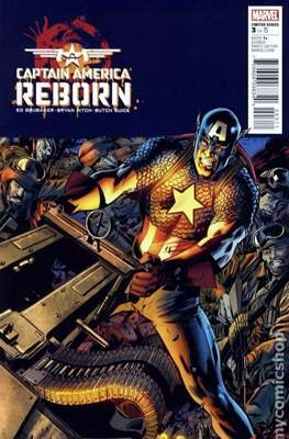 Captain America: Reborn (Comic Book) #3