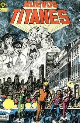 Nuevos Titanes Vol. 1 (1984-1988) (Grapa 40 pp) #25