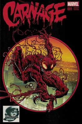 Carnage Vol. 2 (2016 Variant Cover) (Comic Book) #1.2