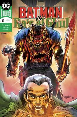 Batman vs Ra's Al Ghul (Comic Book) #3