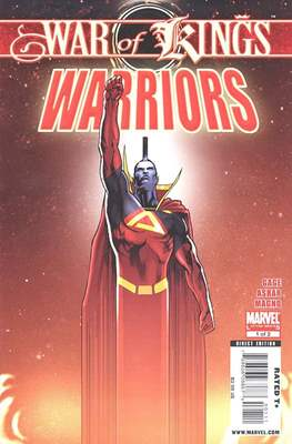 War of Kings: Warriors Vol 1 (Comic-Book) #1