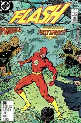 The Flash Vol. 2 (1987-2006) (Comic Book) #21
